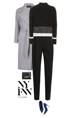 """Hottest NYFW Runway Trend"" by beachkidwithdirtyvans ❤ liked on Polyvore featuring Boohoo, Yves Saint Laurent, Topshop, Alexander McQueen and Tod's"