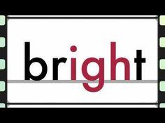 igh words - Phonics - light, nightmare, frightening