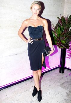 The Best Little Black Dresses of 2012 - Candice Swanepoel