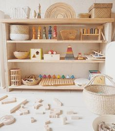 a toddler room sneak peek with framebridge x penguin books - calivintage - Wooden toys forever. Thank you Andrea Masó Amat for including our Wooden Animal…, -