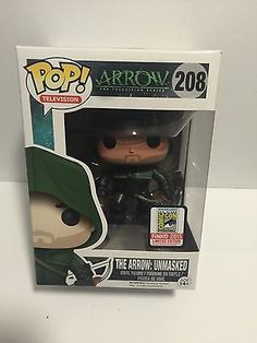SDCC 2015 EXCLUSIVE Funko Pop! TV: The Arrow: Unmasked
