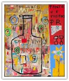 Troy Henriksen - Tonic - Acrylique et mixte sur toile - 162 x 130 cm - 2002 - Galerie W - Galerie d'Art contemporain à Paris #galeriew #gallery #w #gallery w #troy-henriksen @galeriew
