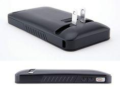 Capa com carregador para Iphone =D