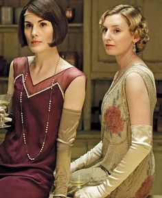 The final series, featuring Michelle Dockery, left and Laura Carmichael, right, starts on September 20