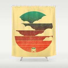 Go West by Budi Satria Kwan as a high quality Shower Curtain. Free Worldwide Shipping available at Society6.com from 11/26/14 thru 12/14/14. Just one of millions of products available.