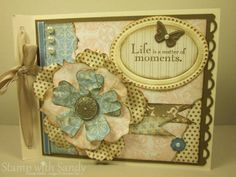 Beau Chateau Mini Scrapbook Cover by stampwithsandy - Cards and Paper Crafts at Splitcoaststampers