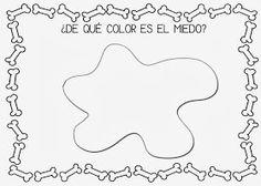 Mi grimorio escolar: EL COLOR DEL MIEDO Conte, Happy Halloween, Preschool, Reading, Diy, Witches, Drawings, Emotions Activities, Social Skills