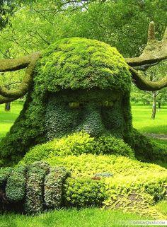Дизайн садового участка своими руками - фотогалерея    Интересно