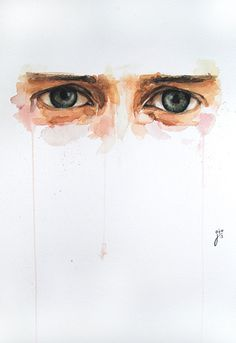 Expressive Watercolor Eye Paintings By Jone Bengoa