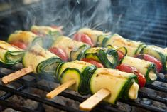 Halloumi, Zucchini, Black Bean Burgers, Vegan, Bacon, Vegetables, Food, Healthy Meals, Cilantro