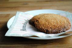 Marcipan havre cookie