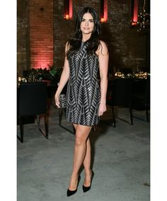 New York's elite raised their glasses to the brand's latest vintage 2004 bubbly. Pictured: Katie Lee