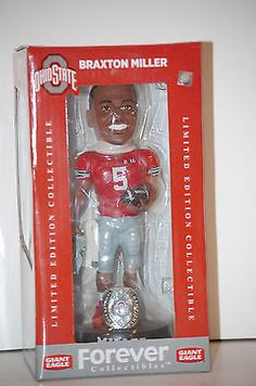 Ohio State Buckeyes Football 2014 National Champs BRAXTON MILLER Collectible