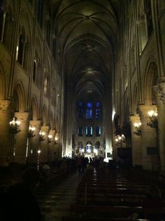 The Cathedral of Notre Dame, Paris...AWE INSPIRING~
