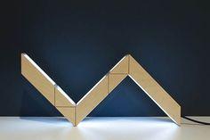 5+5 Lamp: Rubik's Snake Inspired Interactive Lamp