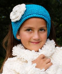Look what I found on #zulily! Turquoise Rosa Wool Head Warmer #zulilyfinds