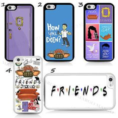 Friends TV Show Series Sitcom Monica Phone Case Cover For iPhone iPod Samsung