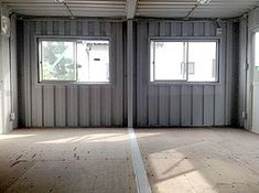 How to Build Your Own Shipping Container Garage – Modern Home Container Homes Cost, 20ft Container, Container Office, Container Shop, Shipping Container Home Designs, Building A Container Home, Shipping Container House Plans, Container Buildings, Container House Design