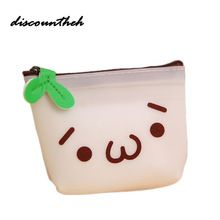 Women Girls Cute Printed Coin Purse Fashion Snacks Coin Purses Wallet Bag Silicone Zipper Small Change Pouch Key Holder Bags //FREE Shipping Worldwide //