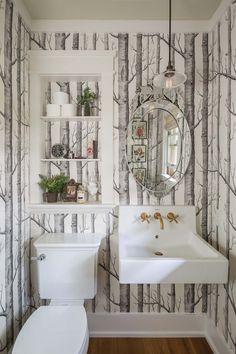 Light-filled home in Wisconsin boasts wonderfully stylish details Diy Bathroom Decor, Diy Home Decor, Bathroom Ideas, Basement Bathroom, Bath Ideas, Bathroom Storage, Bathroom Inspiration, Home Decor Inspiration, Decor Ideas
