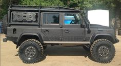 110  Land Rover gun metal black