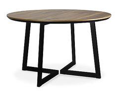 """Stół """"Mio Black II"""", Ø 120, wys. 75 cm"""