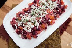 Holidays take a toll on our bodies. Many people gain a few lbs over the Thanksgiving and a bunch more weight over the Holiday baking season. For this reason I am sharing this recipe with you. You will find this salad healthy, filling and delicious. Ever since being introduced to quinoa salad by a friend of mine, I've been a huge fan of it and often go for refills when I make it. The flavors are very well balanced in this salad, sweet and sour with a depth of a goat cheese flavor.