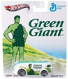 Die Cast Alley - Hot Wheels - 1/64 Pop Culture (Release E) Green Giant - Haulin' Gas, $4.99 (http://www.diecastalley.com/hot-wheels-1-64-pop-culture-release-e-green-giant-haulin-gas/)