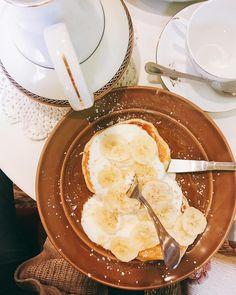 Hello Darling.  Amazing pancakes 😍 #newaddiction #foodie #foodlover #foodporn 🤤 . . . #heresmyfood #foodphotography #picoftheday…