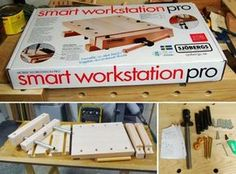 The perfect workkbench for the small shop or for doing detail work.