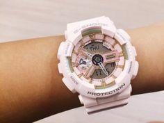 Обзор и инструкция. Женские наручные часы Casio G-Shock GMA-S120MF-4A S-Series - купить - YouTube