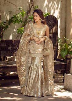 Bridal Outfits, Bridal Dresses, Sharara Designs, Sharara Suit, Salwar Suits, Salwar Kameez, Indian Fashion Dresses, Indian Gowns, Ethnic Fashion