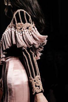 welcome in the world of fashion...Balmain | Paris Fashion Week | Fall 2016
