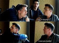 Jackson Whittemore was played by Colton Haynes