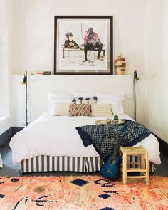 Morocco On My Mind Moroccan Interiors, Global Design, Rug Sale, House Tours, Morocco, Home Furnishings, Bedroom, Inspiration, Furniture