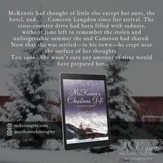 """""""McKensie's Christmas Gift"""" by McKenna Grey, a small-town, second-chance contemporary holiday novelette."""