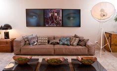 I want this sofa!!! Casa de Valentina -MOSTRA BLACK   ANDRÉ PIVA