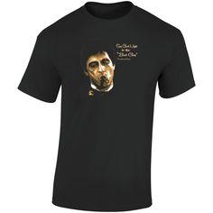 Tony Montana Scarface Say Good Night To The Bad Guy T Shirt Movie T Shirts, Good Night, Montana, Guys, Sayings, Movies, Cotton, Stuff To Buy, Fashion