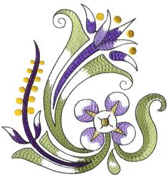 Decorative Flowers - Volume No.17 on Behance