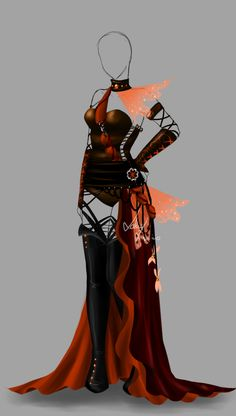Outfit design - 155 - closed by LotusLumino on DeviantArt
