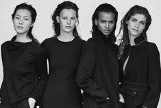 Liu Wen, Liya Kebede, Amanda Murphy and Elisa Sednaoui star in Giorgio Armani's New Normal fall winter 2016 campaign