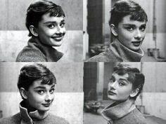 "Audrey Hepburn. ""AL"""