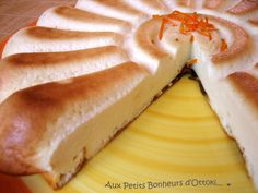 Cheesecake à l'orange