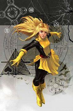 "Mystic Arcana: Magik ""Number 1"" Cover Art By Marko Djurdjević (June, 2007)"
