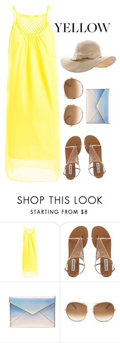 """""""yellow eoh"""" by kapreece on Polyvore featuring Rebecca Minkoff and Chloé"""