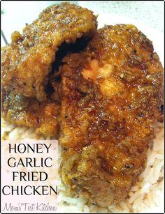 Honey Garlic Fried Chicken