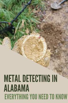 Alabama Law, Metal Detecting Tips, Treasure Hunting, Metal Detector, Bobby, Crochet Earrings, Hobbies, Passion, Places