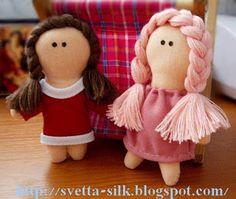 Маленькая куколка своими руками. Обсуждение на LiveInternet - Российский Сервис Онлайн-Дневников