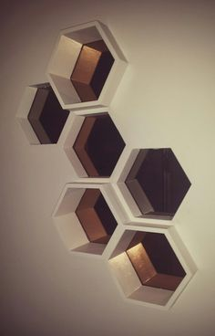 Honeycomb Wall Display Boxes Pinteres