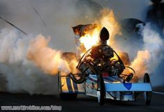 Drag racing mishaps are brutally hot (21 photos)